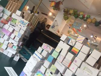 Cake Box Wall