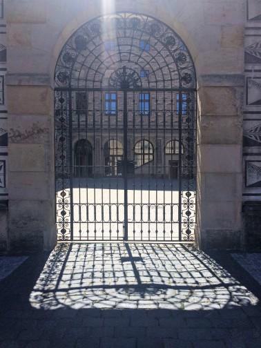 Gate in Prague