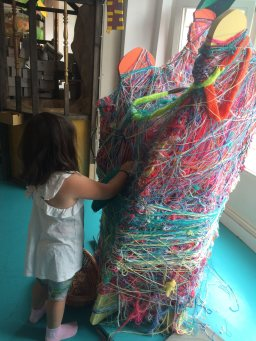 The Yarn Sculpture