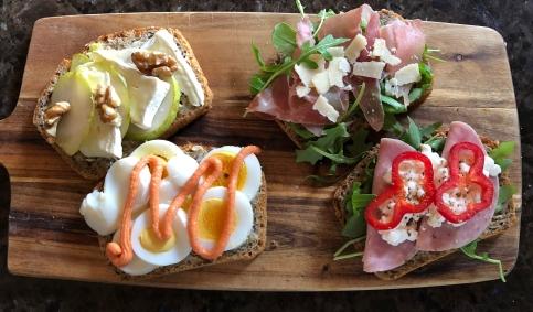 Fancy Open Sandwiches